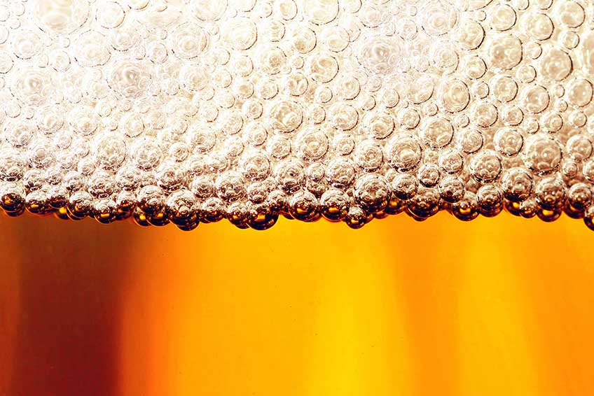 Beer-bubbles